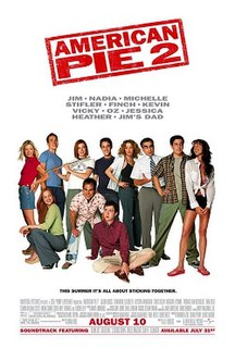 <i>American Pie 2</i> 2001 US comedy film directed by J. B. Rogers