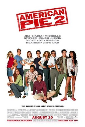 American Pie 2 - Theatrical release poster