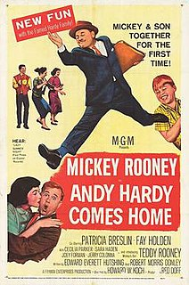 <i>Andy Hardy Comes Home</i> 1958 film by Howard W. Koch