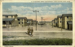 Fort Devens - Image: Army Cantonment at Devens