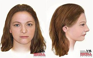 Arroyo Grande Jane Doe - 2015 reconstruction created by the National Center for Missing & Exploited Children