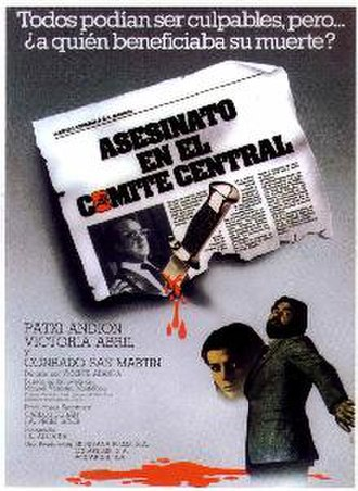 Murder in the Central Committee - Image: Asesinato en el Comite Cental