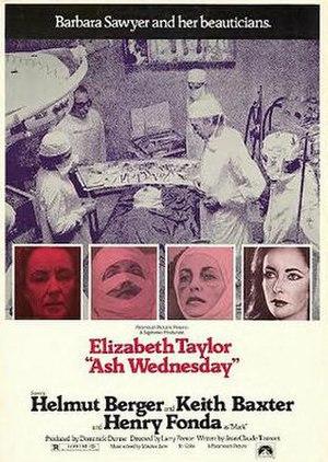 Ash Wednesday (1973 film) - Original poster