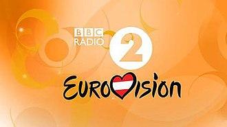 BBC Radio 2 Eurovision - BBC Radio 2 Eurovision 2015 logo