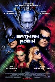 <i>Batman & Robin</i> (film) 1997 American superhero film based on the DC Comics character Batman directed by Joel Schumacher