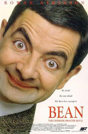 Bean (film) - Theatrical release poster