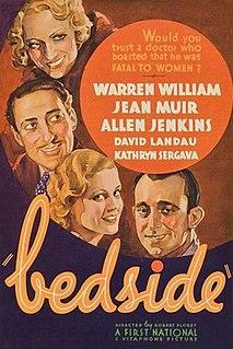 <i>Bedside</i> 1934 film directed by Robert Florey