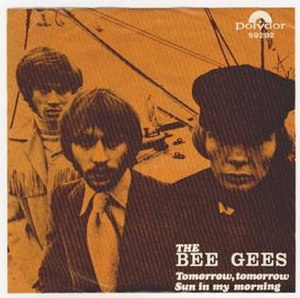 Tomorrow Tomorrow (Bee Gees song) - Image: Beegeestomorrowtomor row