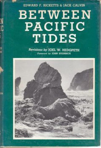 Between Pacific Tides - Image: Between Pacific Tides (book) cover
