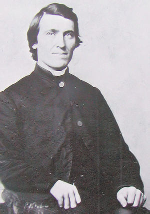 John Ireland (bishop) - Ireland as a young man