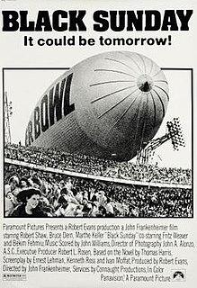 <i>Black Sunday</i> (1977 film) 1977 film by John Frankenheimer