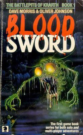 Blood Sword (gamebook series) - The Battlepits of Krarth cover art