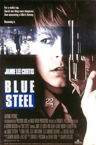 Blue Steel (1990 film) - Theatrical release poster