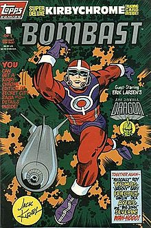 Topps Comics Bombast 1 April 1993 Cover Art By Kirby