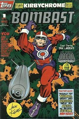 Topps Comics - Image: Bombast 1