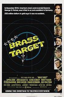 <i>Brass Target</i> 1978 film by John Hough