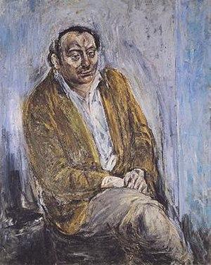 Brian Higgins (poet) -  Brian Higgins, by Patrick Swift,  c.1960