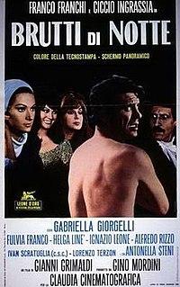 <i>Brutti di notte</i> 1968 film by Giovanni Grimaldi