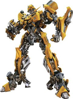 Bumblebee In The 2007 Transformers Movie