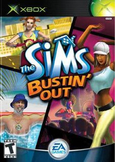 <i>The Sims Bustin Out</i> 2003 video game