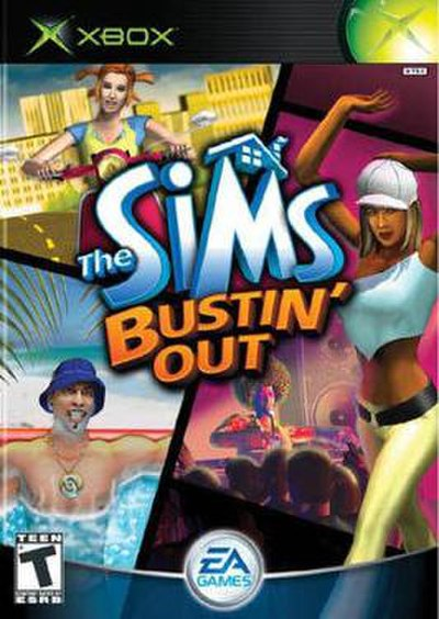 Picture of a game: The Sims Bustin' Out