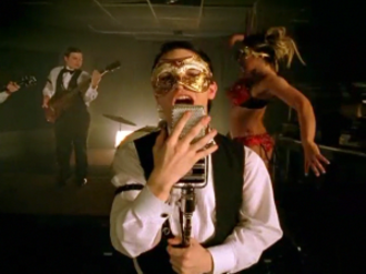 But It's Better If You Do - The music video takes place in a masquerade-style strip club.