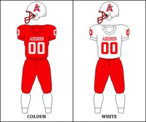 Acadia Axemen - Image: CIS Acadia Jersey