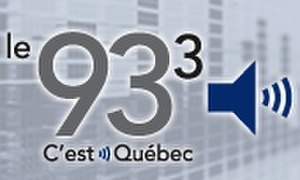 "CJMF-FM - Prior logo as ""Le 93,3""."