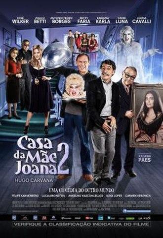 Casa da Mãe Joana 2 - Theatrical release poster