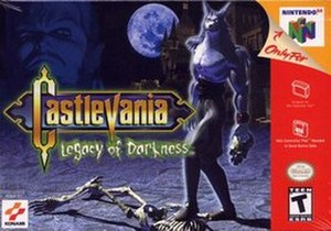Castlevania: Legacy of Darkness - North American box art