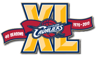 2009–10 Cleveland Cavaliers season - Commemorative logo celebrating the Cavaliers' 40th season