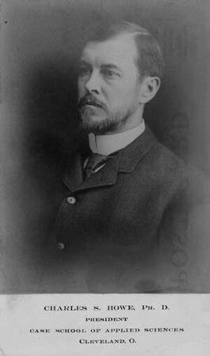 Charles S. Howe - Image: Charles S. Howe 1902 President Case Western Reserve