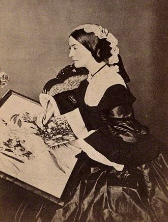 Charlotte Canning, Countess Canning - Photographed by Henry Hering for a carte de visite around 1860