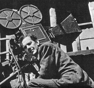 Edward Scaife - on the set of Black Narcissus (1947)