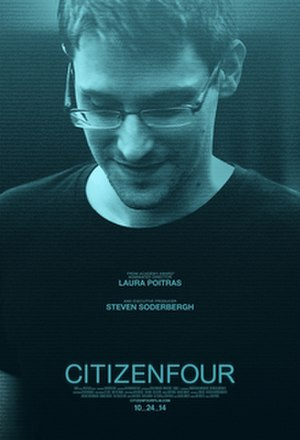 Citizenfour - Theatrical release poster
