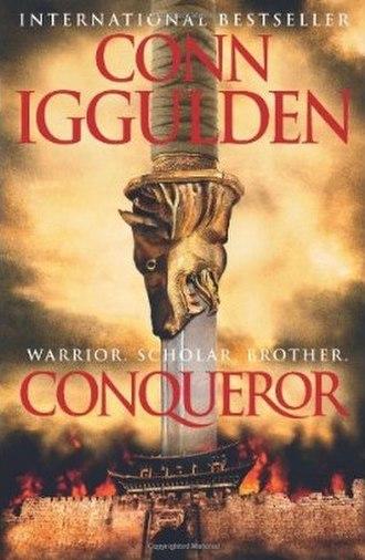 Conqueror (Iggulden novel) - Conqueror cover.