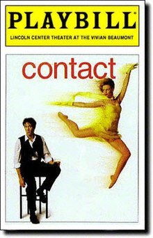 Contact Musical Playbill Cover Opening Night
