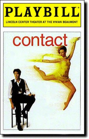 Contact (musical) - Opening Night Playbill cover