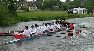 Corpus Christi College Boat Club (Cambridge) - Corpus III bumps Girton III in May Bumps 2005