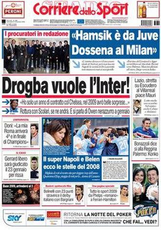 Corriere dello Sport – Stadio - Image: Corriere dello sport stadio