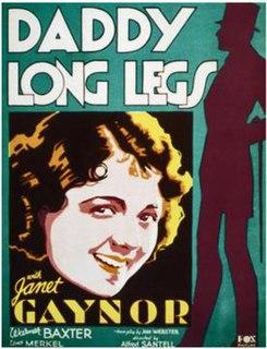 <i>Daddy Long Legs</i> (1931 film) 1931 film by Alfred Santell