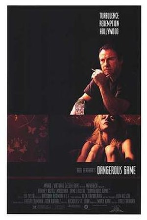 Dangerous Game (1993 film) - Promotional poster