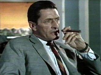 Anthony Dawson - Dawson as Professor Dent in the James Bond film Dr. No