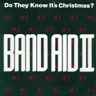 Do They Know It's Christmas? - Image: Do They Know It's Christmas single cover 1989