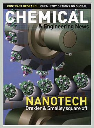 Drexler–Smalley debate on molecular nanotechnology - The debate between K. Eric Drexler and Richard Smalley on the feasibility of molecular assemblers began in 2001 and concluded in a cover story in Chemical & Engineering News in 2003.