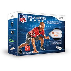 EA Sports Active NFL Training Camp - Image: EA Sports Active NFL Training Camp box