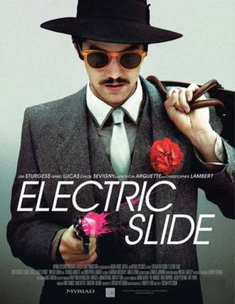 Electric Slide (film) - Theatrical release poster