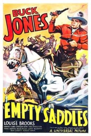 Empty Saddles - Image: Empty Saddles poster
