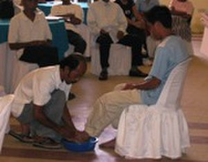 Ordinance (Latter Day Saints) - Rigdonite/Bickertonite Foot washing in the Philippines