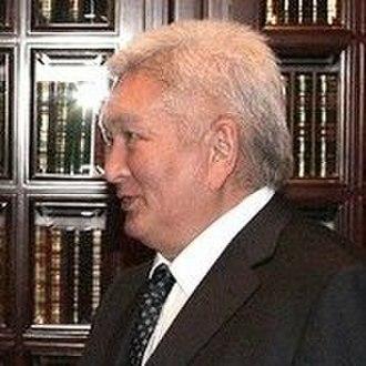 Kyrgyz parliamentary election, 2010 - Image: Felix Kulov 22 September 2010 cropped